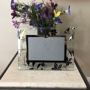 Black & Silver Friendship Theme Picture Frame